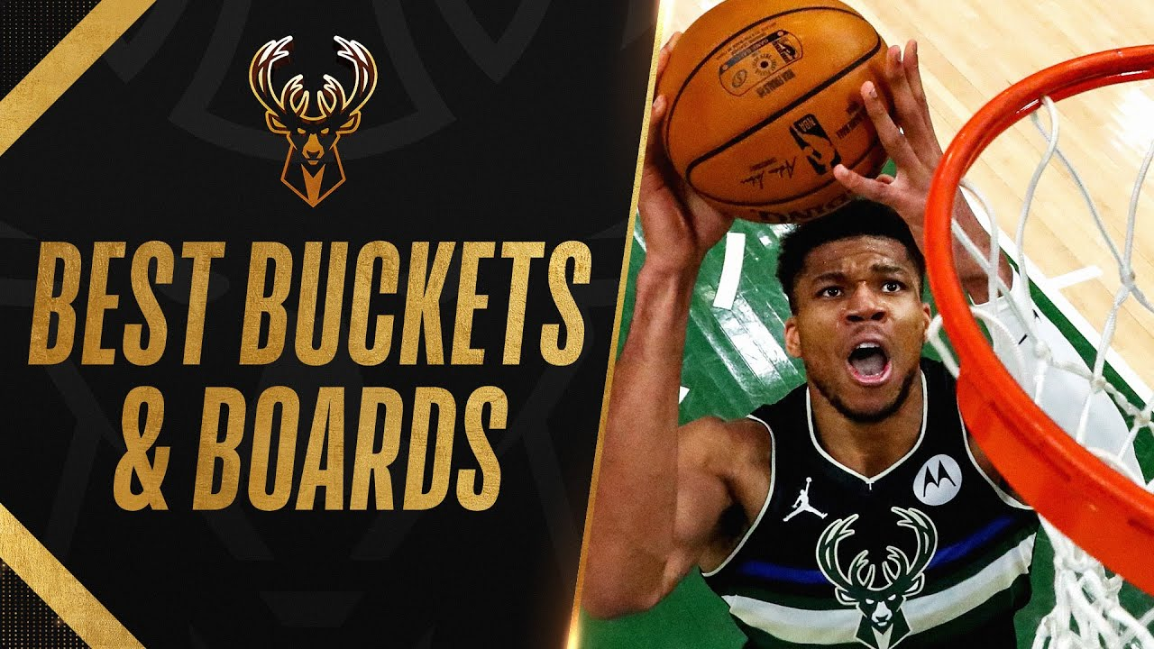Best BUCKETS & BOARDS From Giannis 3 Games of 40+ PTS & 10+ REB! 🔥