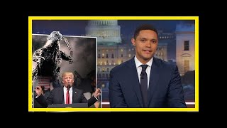 "Breaking News | Trevor noah: ""trump knows two things about japan, and neither of them is right"""