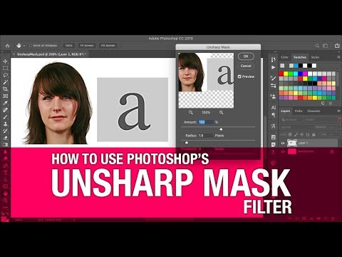 How To Use Photoshop's Unsharp Mask Filter