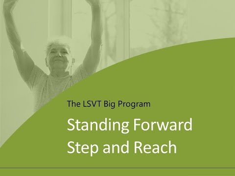 Exercise 3: Standing Forward Step and Reach