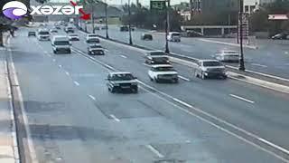 Bakıda avtoxuliqanlıq edən sürücü saxlanılıb