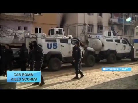 Car Bomb Kills Scores in Turkey: Authorities claim Kurdistan Worker