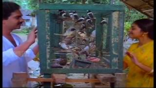 Malayalam hit song melle melle mukha padam thellothukki   Oru Minnaminunginte Nurungu Vettam 1987