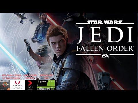 GTX 1650 GDDR6 - Star Wars Jedi: Fallen Order Deluxe Edition Benchmark |