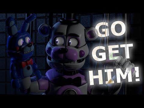 [C4D FNaF] BON BON, GO GET HIM! | Animation Short