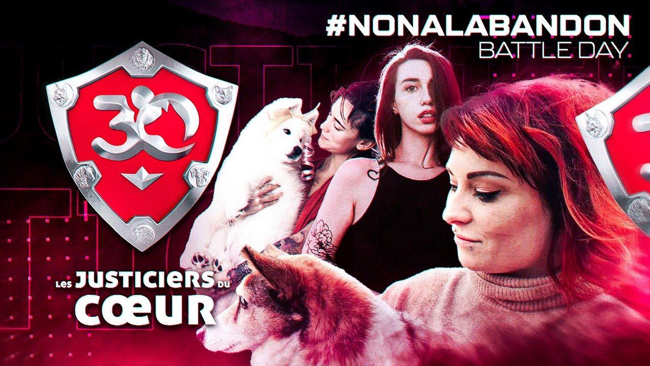 Les Justiciers du Cœur : BEST OF #NonALAbandon Battle Day ! (Minecraft, Pummel party, Gartic Phone)
