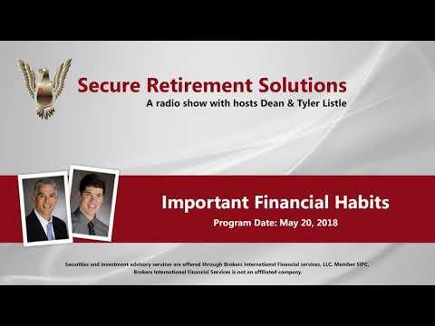 Important Financial Habits - RADIO SHOW