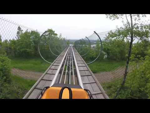 Roadtrip: Spirit Mountain Twister Timber Alpine Coaster - Duluth, MN