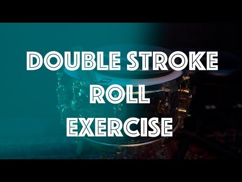 Improve Your Double Stroke Roll!  TWICE AS FAST
