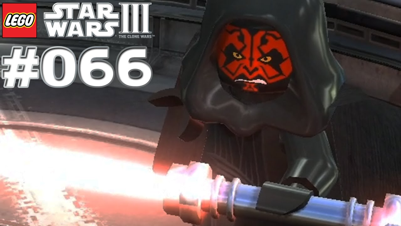 let 39 s play lego star wars 3 the clone wars 066 darth maul. Black Bedroom Furniture Sets. Home Design Ideas