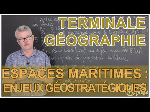 Espaces maritimes : enjeux géostratégiques - Histoire-Géo - Terminale - Les Bons Profs