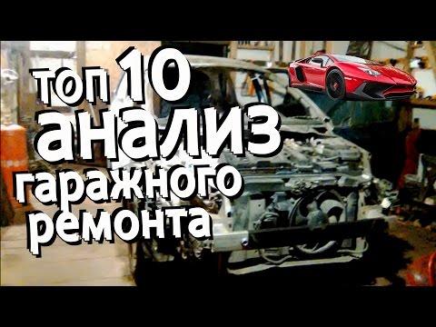 Топ 10  Кузовной ремонт сервис или гараж скромный анализ