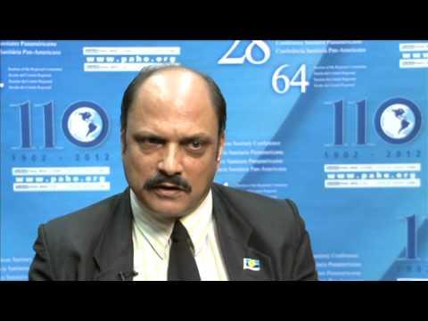 Dr Bheri Ramsarran, Minister of Health of Guyana