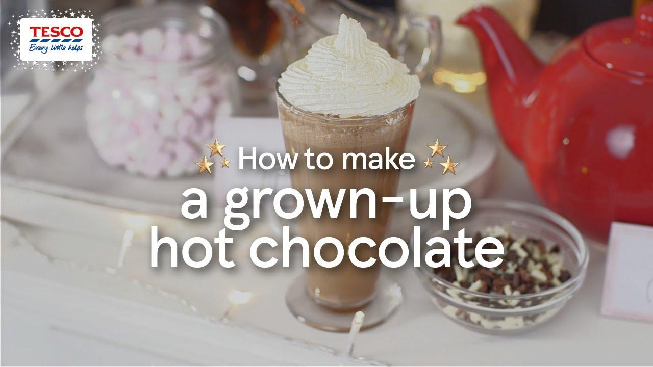 How To Make A Grown Up Hot Chocolate Bar Tesco Living