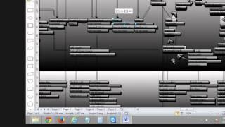Resultado conversión de pdf a visio (vsd) editable, dxf y png