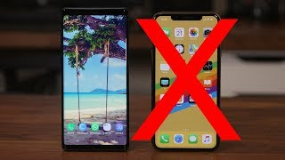 Goodbye iPhone Xs Max - Switching to Galaxy Note 9 (Final Decision)