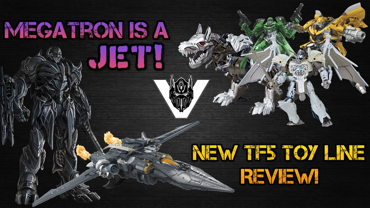 tf5 megatron is a jet new hasbro toy line full review approaching