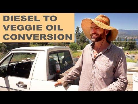 Farmer Converts Diesel Truck to Run on Waste Vegetable Oil