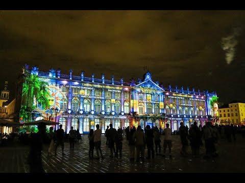 Son et lumière à Nancy: Rendez-vous Place Stanislas 01-08-2017