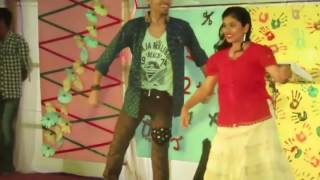 bengali villege school festival stage performance/Bangala school girl hot dance(new)