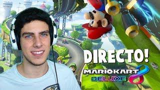 MIS SUSCRIPTORES NO ME DEJAN GANAR EN DIRECTO EN MARIO KART 8 DELUXE | Nintendo Switch