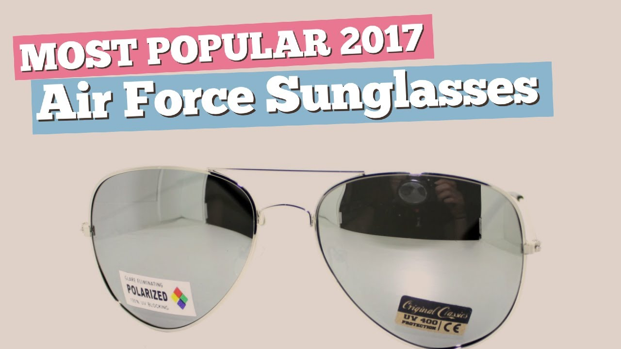 cc112fed76 Air Force Sunglasses Collection    Most Popular 2017 - YouTube