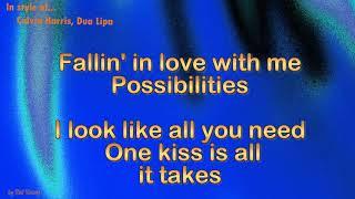 Download Lagu Calvin Harris, Dua Lipa -  One Kiss - Instrumental Mp3