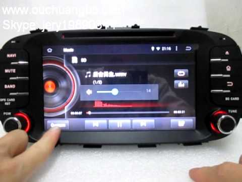 ouchuangbo car stereo radio dvd player pure android 4 4. Black Bedroom Furniture Sets. Home Design Ideas