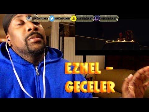 (TURKISH)Ezhel - Geceler  2018 REACTION!!