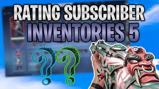 Rating Subscriber VALORANT Inventories! (NICE SKINS) #5