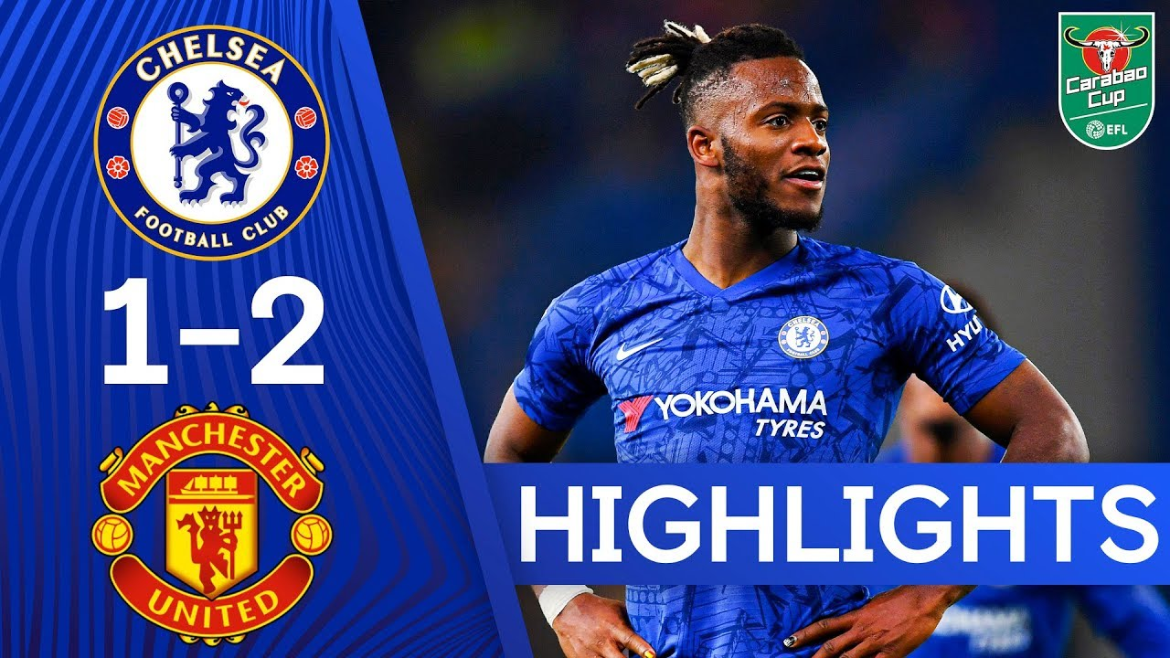 Download Chelsea 1-2 Manchester United | A Special Goal From Michy Batshuayi! | Highlights
