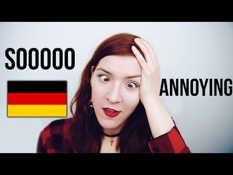 The Most ANNOYING Thing About The German Language!