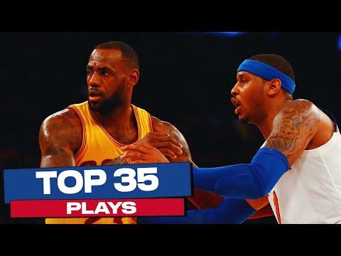 LeBron James' Top 35 Plays | NBA Career Highlights