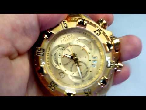 fedb60e6646 Relógio Invicta 14473 - 6471 Excursion Reserve Dourado