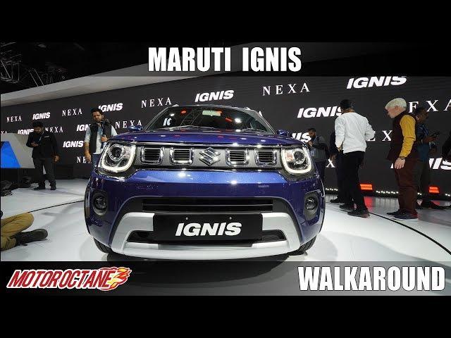 Maruti Ignis - SUV Looks! | Auto Expo 2020 | Hindi | Motoroctane