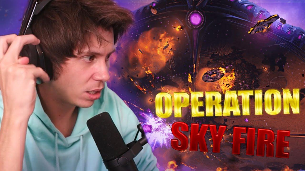 OPERACION SKY FIRE | Fortnite - Final de temporada
