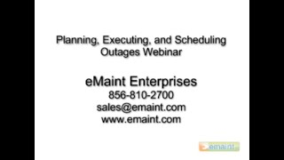 planning scheduling and executing outages maintenance best practices emaint cmms