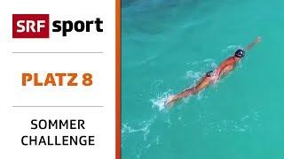 44 Kilometer Im Pazifik: Soloschwimmen In Hawaii |platz 8 - Best Of Sommer-challenge | Srf Sport