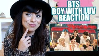 BTS - Boy With Luv feat. Halsey' Official MV   Reaction! - РЕАКЦИЯ НА BTS