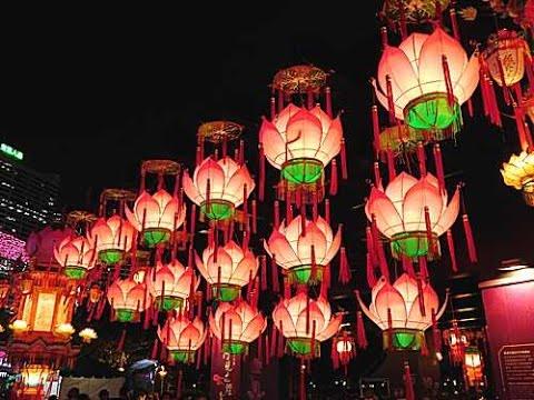 chinese lanterns victoria park hong kong mid autumn festival 2016