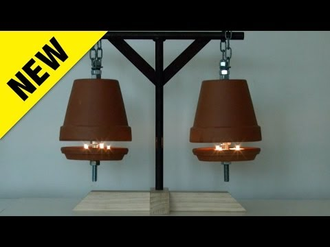 How To Build A Clay Pot Candle Heater And Do They Really Work