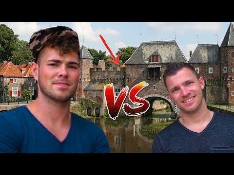 IS CHRIS/AART SLIMMER? WIE MOET ZWEMMEN IN DE GOORSTE SLOOT VAN NL