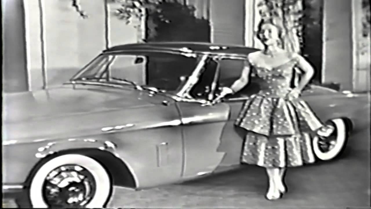 1954 studebaker commander starliner vintage promotional film youtube