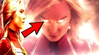 CAPTAIN MARVEL Official Trailer - Captain Marvel CRAZY POWERS REVEALED! The MOST POWERFUL AVENGER