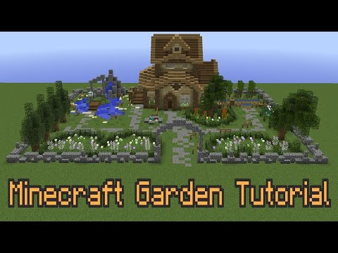 How To Improve Your Minecraft Garden!