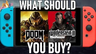 DOOM Vs. Wolfenstein II: The New Colossus - WHAT SHOULD YOU BUY!?