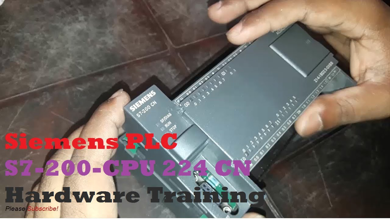 Siemens Plc  Programmable Logic Controller  S7 Dc  Relay