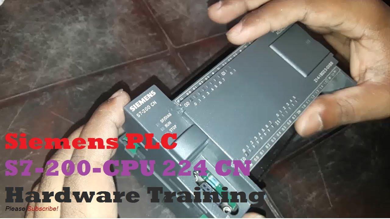 Siemens Plc Programmable Logic Controller S7 200