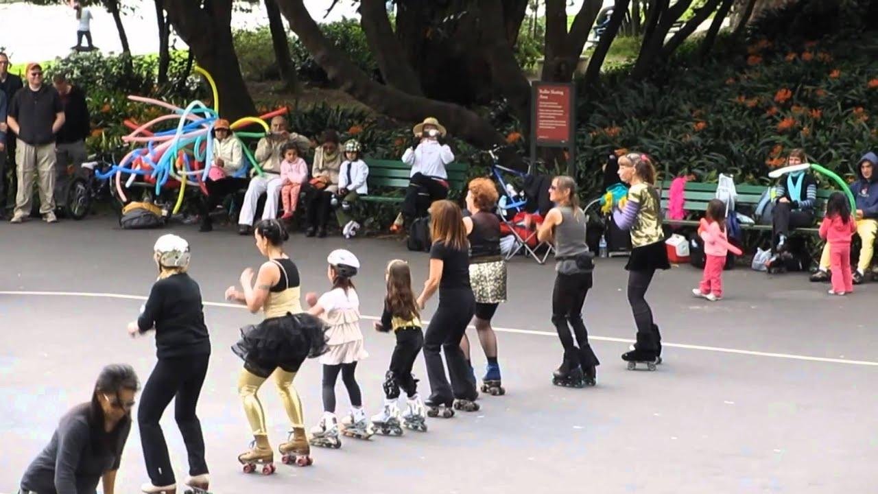Skaters' Showcase @ Skatin' Place Sunday Streets Golden Gate Park San Francisco California 2012 ...