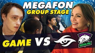 #NAVIVLOG: Megafon group stage. Games vs Secret, Virtus.pro
